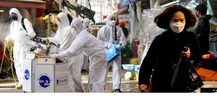 दक्षिण कोरियामा कोरोना भाइरस सङ्क्रमितको संख्या ९१ हजार भन्दा बढी