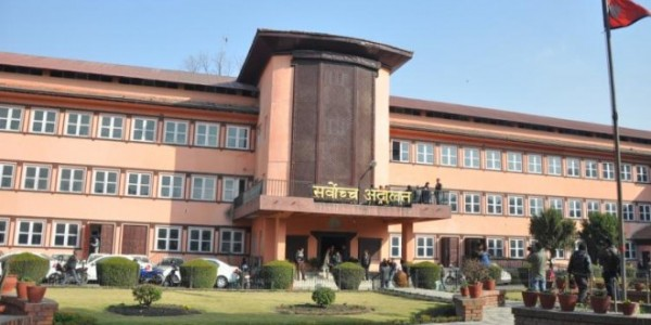लुम्बिनी प्रदेशसभाका तत्कालीन चार सदस्यद्वारा सर्वोच्चमा रिट